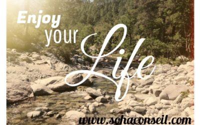 Il est temps de profiter de la vie !